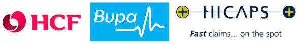 HCF and BUPA preferred providers
